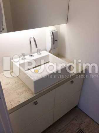Banheiro Feminino - imóveis Aluguel Sala Comercial Leblon - LASL00164 - 12