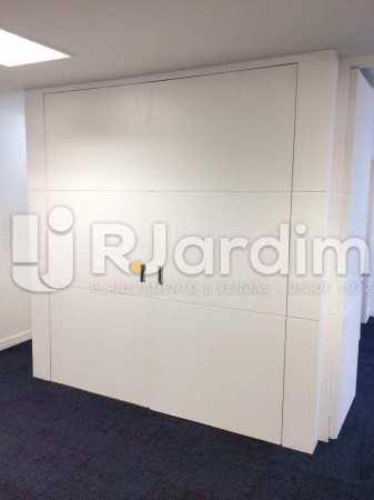 Divisória - imóveis Aluguel Sala Comercial Leblon - LASL00164 - 15