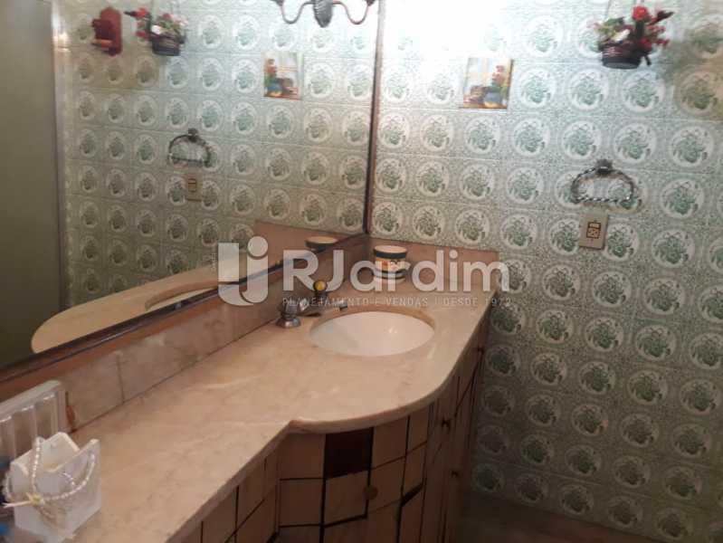 banheiro social  - Compra Venda Avaliação Imóveis Cobertura Jardim Botânico 4 Quartos - LACO40158 - 9