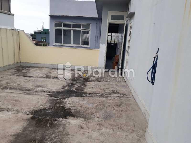 terraço/fundos   - Compra Venda Avaliação Imóveis Cobertura Jardim Botânico 4 Quartos - LACO40158 - 22