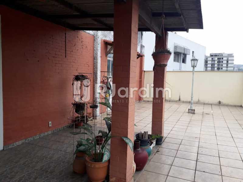 terraço  - Compra Venda Avaliação Imóveis Cobertura Jardim Botânico 4 Quartos - LACO40158 - 4