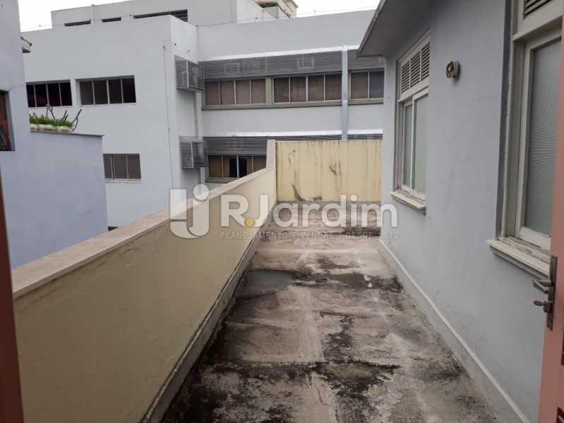 terraço/fundos - Compra Venda Avaliação Imóveis Cobertura Jardim Botânico 4 Quartos - LACO40158 - 23