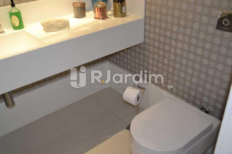 Lavabo - Apartamento À Venda Rua General Venâncio Flores,Leblon, Zona Sul,Rio de Janeiro - R$ 3.650.000 - LAAP31774 - 20