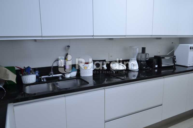 Cozinha - Apartamento À Venda Rua General Venâncio Flores,Leblon, Zona Sul,Rio de Janeiro - R$ 3.650.000 - LAAP31774 - 26