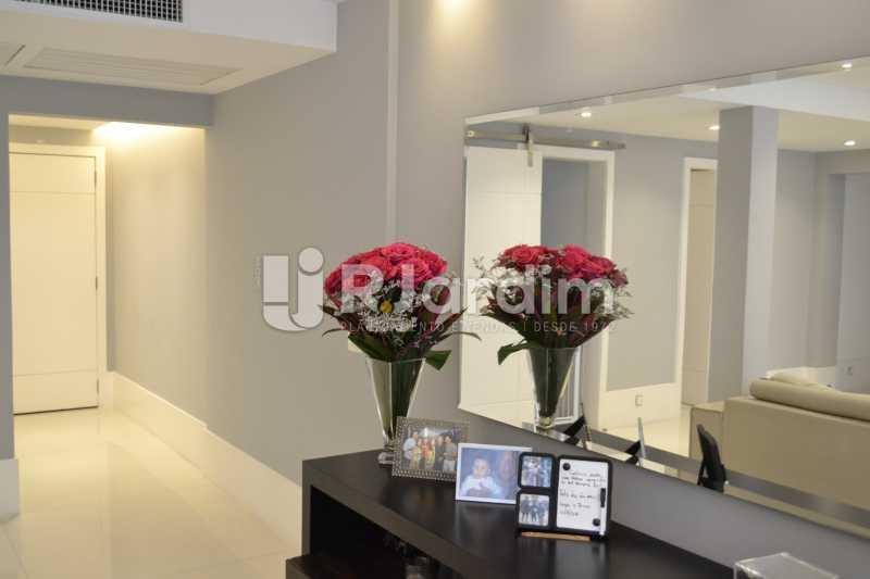 Hall de Entrada - Apartamento À Venda Rua General Venâncio Flores,Leblon, Zona Sul,Rio de Janeiro - R$ 3.650.000 - LAAP31774 - 4