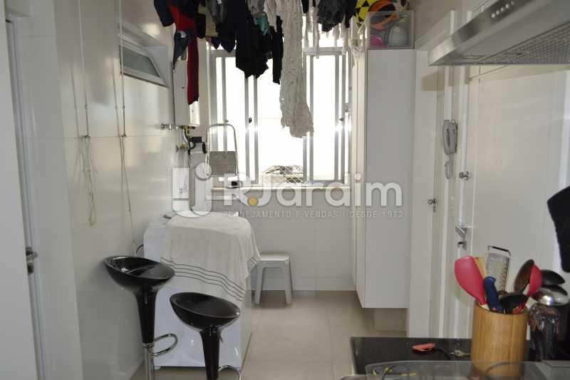 Área de Serviço - Apartamento À Venda Rua General Venâncio Flores,Leblon, Zona Sul,Rio de Janeiro - R$ 3.650.000 - LAAP31774 - 29