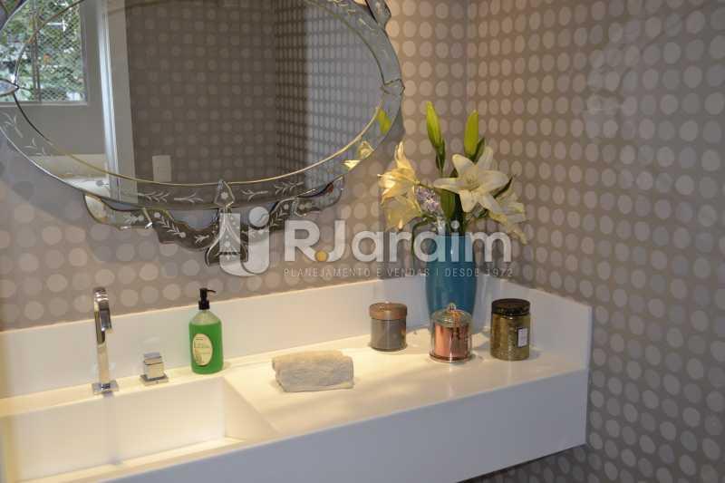 Lavabo - Apartamento À Venda Rua General Venâncio Flores,Leblon, Zona Sul,Rio de Janeiro - R$ 3.650.000 - LAAP31774 - 19