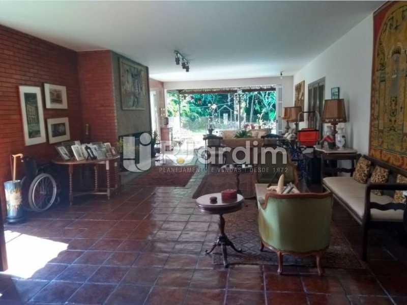 sala de visita - Casa Rua Golf Club,São Conrado, Zona Sul,Rio de Janeiro, RJ À Venda, 5 Quartos, 489m² - LACA50023 - 5