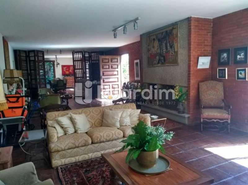 sala de estar - Casa Rua Golf Club,São Conrado, Zona Sul,Rio de Janeiro, RJ À Venda, 5 Quartos, 489m² - LACA50023 - 7