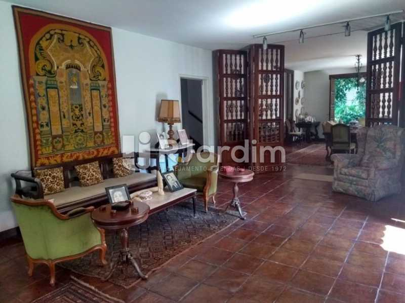 sala de visita - Casa Rua Golf Club,São Conrado, Zona Sul,Rio de Janeiro, RJ À Venda, 5 Quartos, 489m² - LACA50023 - 9
