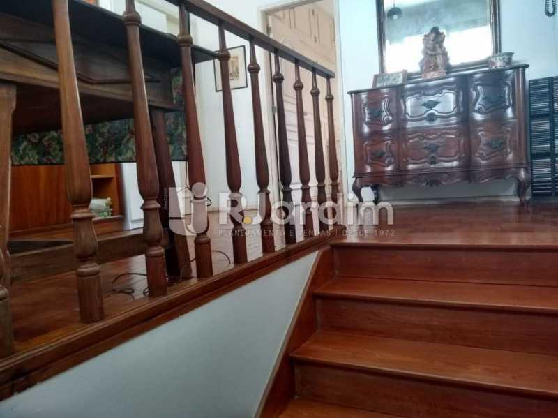 acesso escada - Casa Rua Golf Club,São Conrado, Zona Sul,Rio de Janeiro, RJ À Venda, 5 Quartos, 489m² - LACA50023 - 26