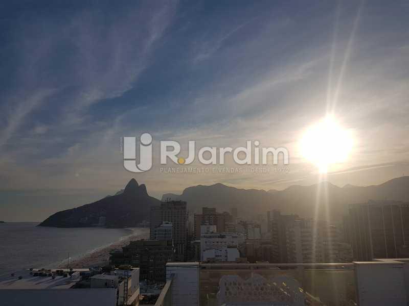 VISTA LESLUMBRANTE - Cobertura 3 quartos à venda Ipanema, Zona Sul,Rio de Janeiro - R$ 4.945.000 - LACO30244 - 1