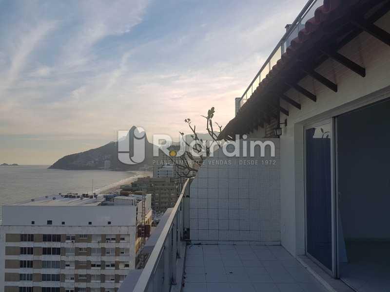 VARANDA 2° PAVIMENTO - Cobertura 3 quartos à venda Ipanema, Zona Sul,Rio de Janeiro - R$ 4.945.000 - LACO30244 - 6