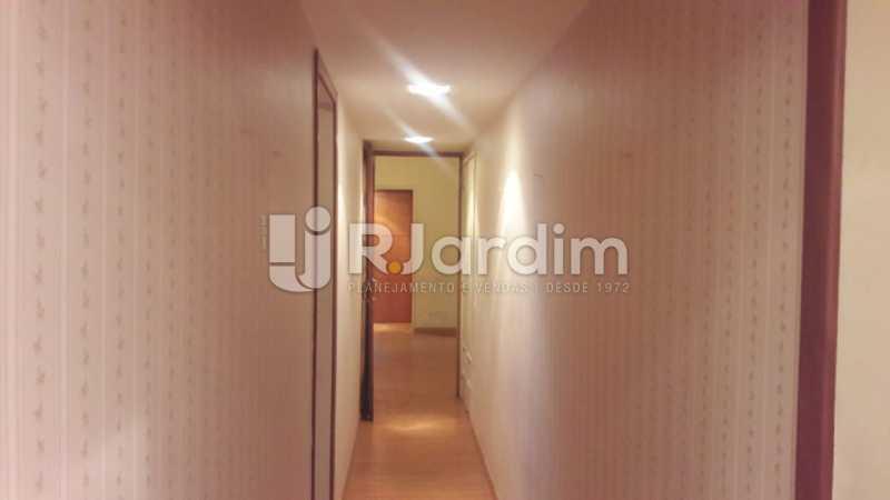 corredor  - Compra Venda Avaliação Imóveis Apartamento Ipanema 3 Quartos - LAAP31777 - 6