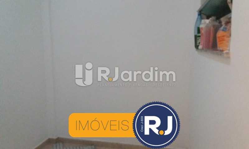 quarto de empregada - Apartamento 3 quartos à venda Botafogo, Zona Sul,Rio de Janeiro - R$ 750.000 - LAAP31782 - 7