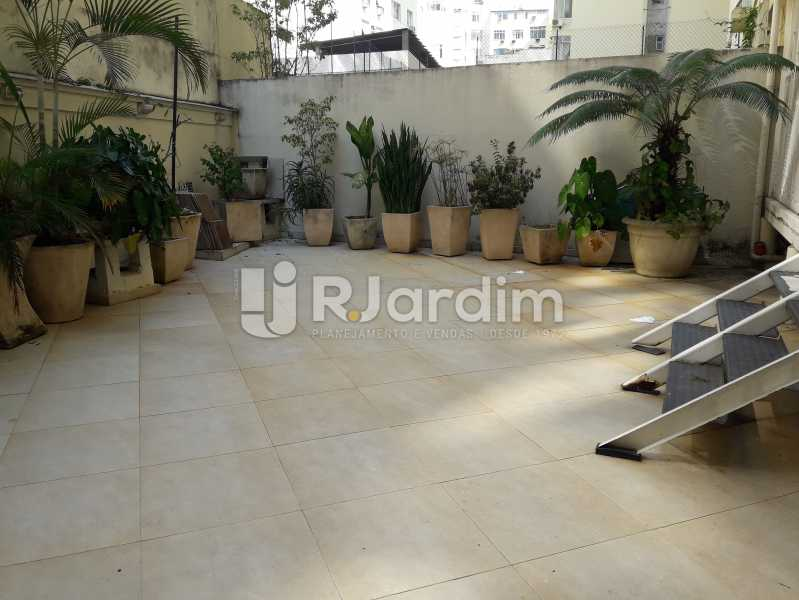 Area externa privativa - Compra Venda Avaliação Imóveis Apartamento Copacabana 3 Quartos - LAAP31784 - 12