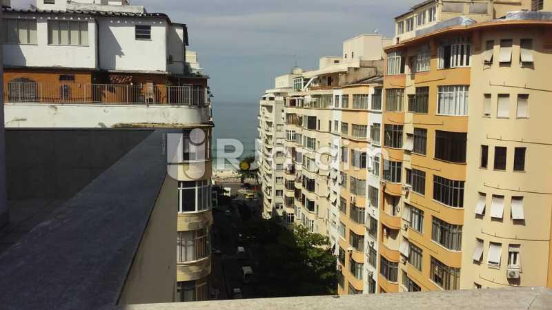 Vista parcial mar - Imóveis Aluguel Sala Comercial Copacabana - LASL00166 - 1