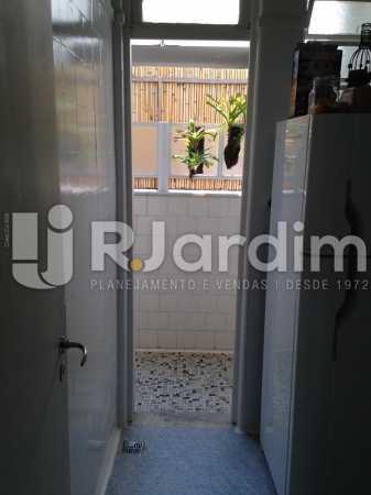 Área de Serviço - Compra Venda Avaliação Imóveis Apartamento Jardim Botânico 2 Quartos - LAAP21280 - 21