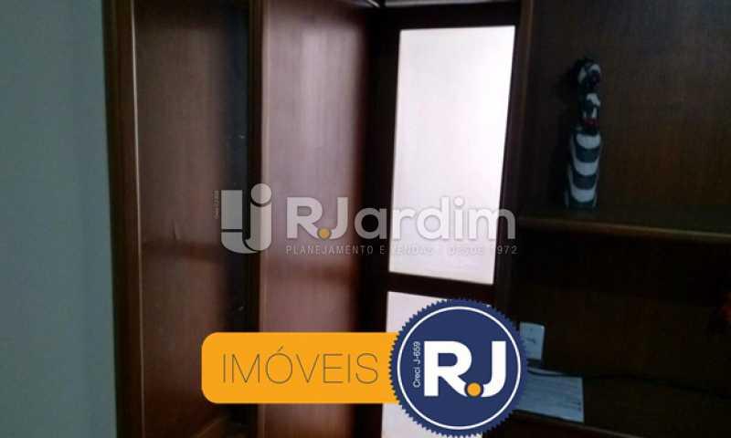 divisoria com estante - Apartamento À VENDA, Copacabana, Rio de Janeiro, RJ - LAAP10304 - 14