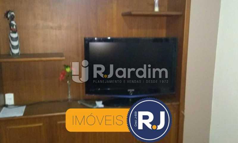 estante da sala - Apartamento À VENDA, Copacabana, Rio de Janeiro, RJ - LAAP10304 - 4