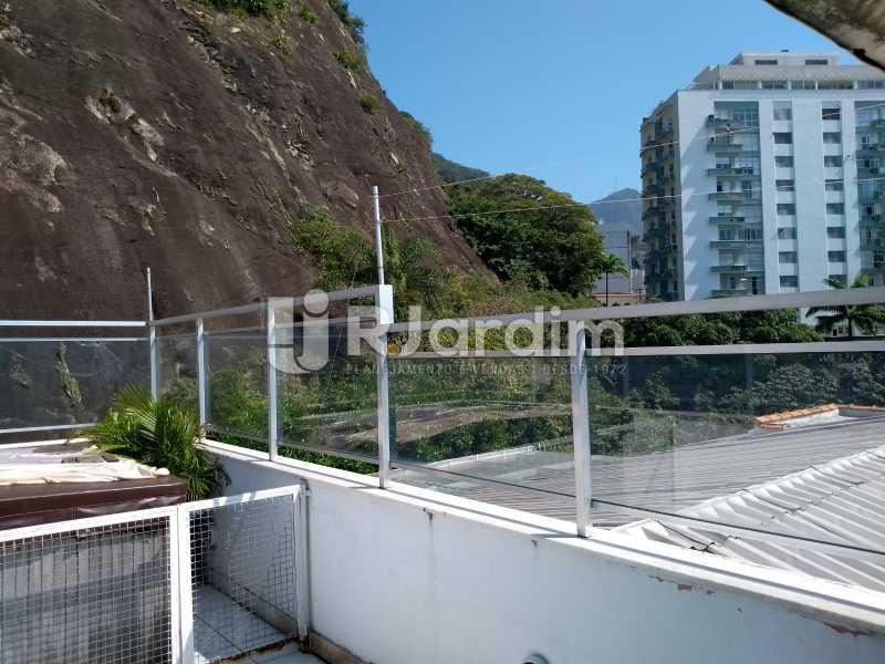 terraço /jacuzzi - Cobertura Rua Aperana,Leblon, Zona Sul,Rio de Janeiro, RJ À Venda, 4 Quartos, 341m² - LACO40159 - 4