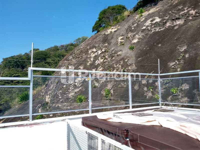 terraço/ jacuzzi  - Cobertura Rua Aperana,Leblon, Zona Sul,Rio de Janeiro, RJ À Venda, 4 Quartos, 341m² - LACO40159 - 5