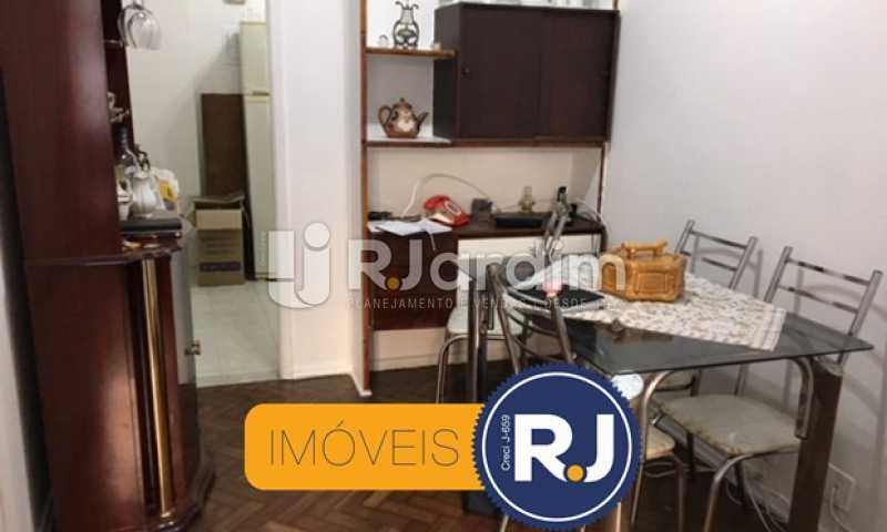 sala de jantar - Apartamento À VENDA, Copacabana, Rio de Janeiro, RJ - LAAP21267 - 1