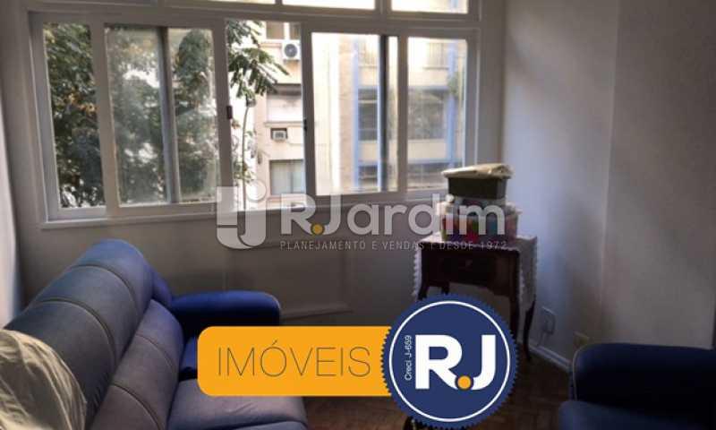sala de estar - Apartamento À VENDA, Copacabana, Rio de Janeiro, RJ - LAAP21267 - 7