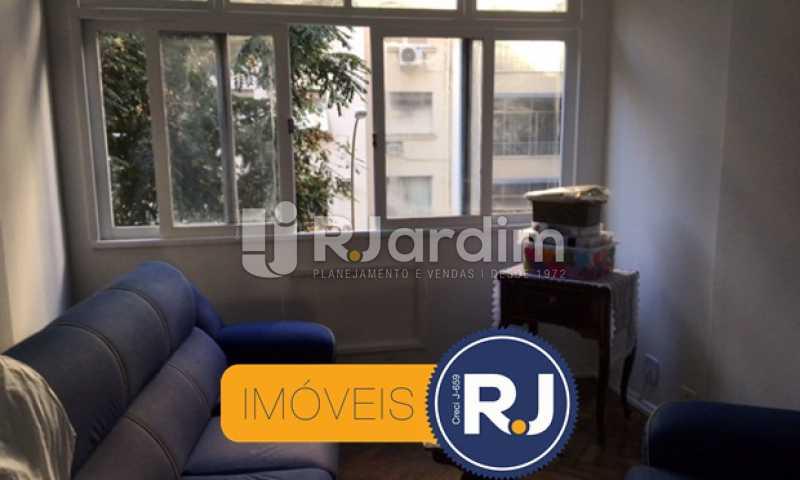 sala de estar - Apartamento À VENDA, Copacabana, Rio de Janeiro, RJ - LAAP21267 - 6