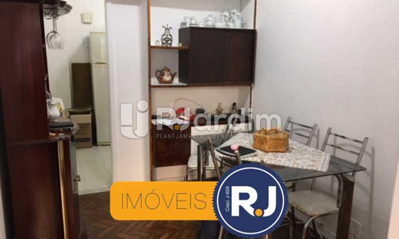sala de jantar - Apartamento À VENDA, Copacabana, Rio de Janeiro, RJ - LAAP21267 - 3