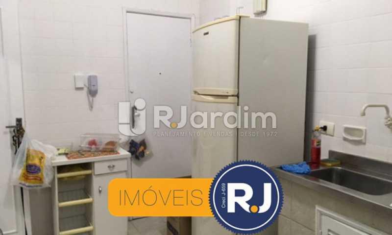 cozinha - Apartamento À VENDA, Copacabana, Rio de Janeiro, RJ - LAAP21267 - 22