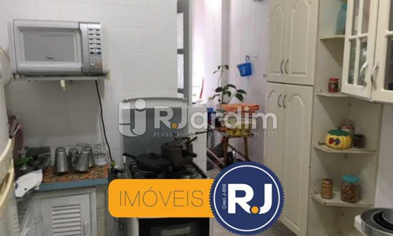 cozinha - Apartamento À VENDA, Copacabana, Rio de Janeiro, RJ - LAAP21267 - 26