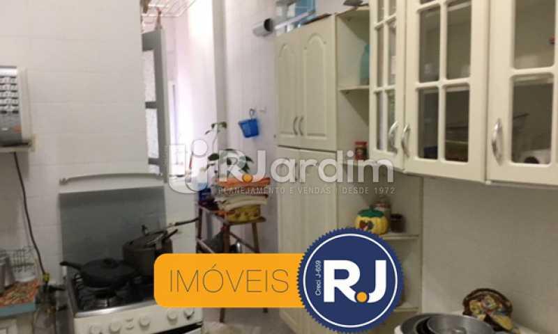 cozinha - Apartamento À VENDA, Copacabana, Rio de Janeiro, RJ - LAAP21267 - 27