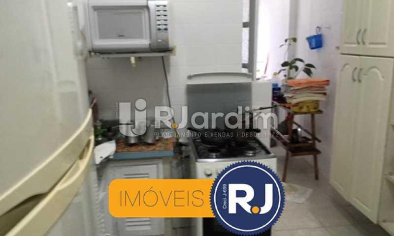 cozinha - Apartamento À VENDA, Copacabana, Rio de Janeiro, RJ - LAAP21267 - 28