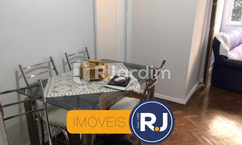 sala de jantar - Apartamento À VENDA, Copacabana, Rio de Janeiro, RJ - LAAP21267 - 4