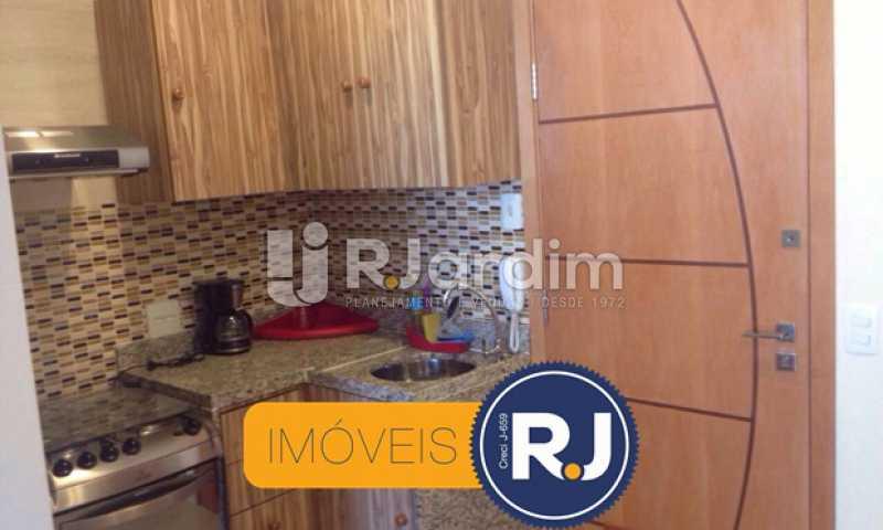 Cozinha - Kitnet/Conjugado À VENDA, Leblon, Rio de Janeiro, RJ - LAKI10026 - 18