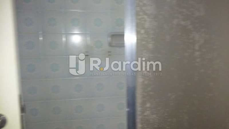Banheiro social  - Apartamento Lagoa 3 Quartos Compra Venda Avaliação Imóveis - LAAP31807 - 20