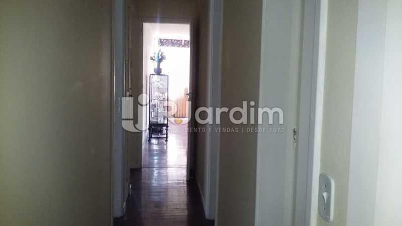 corredor - Apartamento Lagoa 3 Quartos Compra Venda Avaliação Imóveis - LAAP31807 - 9