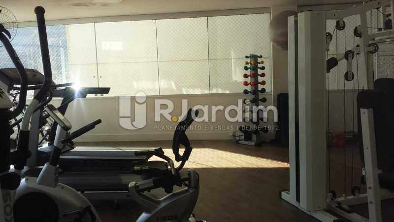 Sala ginástica - Apartamento Lagoa 3 Quartos Compra Venda Avaliação Imóveis - LAAP31807 - 28