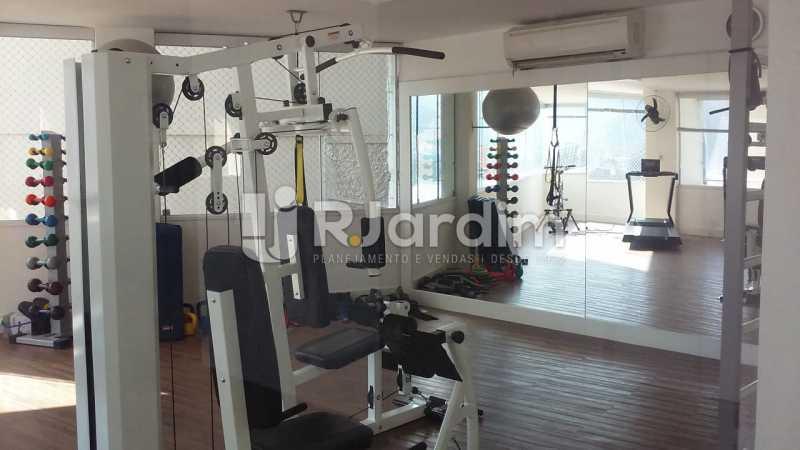 Sala ginástica - Apartamento Lagoa 3 Quartos Compra Venda Avaliação Imóveis - LAAP31807 - 27