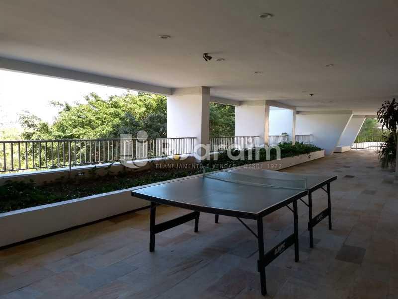 área de lazer / salão de jogos - Apartamento À Venda - Lagoa - Rio de Janeiro - RJ - LAAP21286 - 27