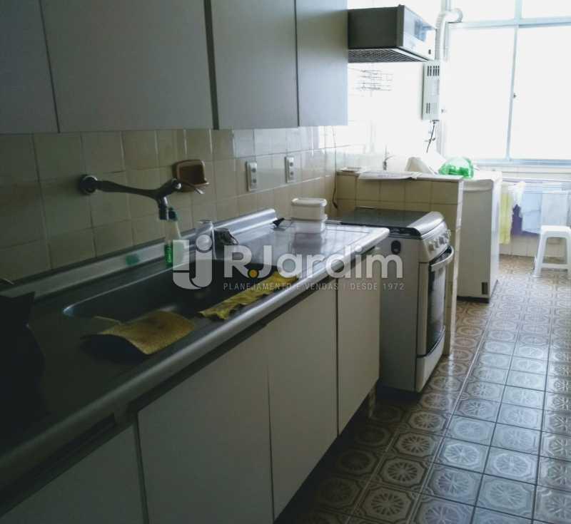 cozinha  - Apartamento À Venda - Lagoa - Rio de Janeiro - RJ - LAAP21286 - 22