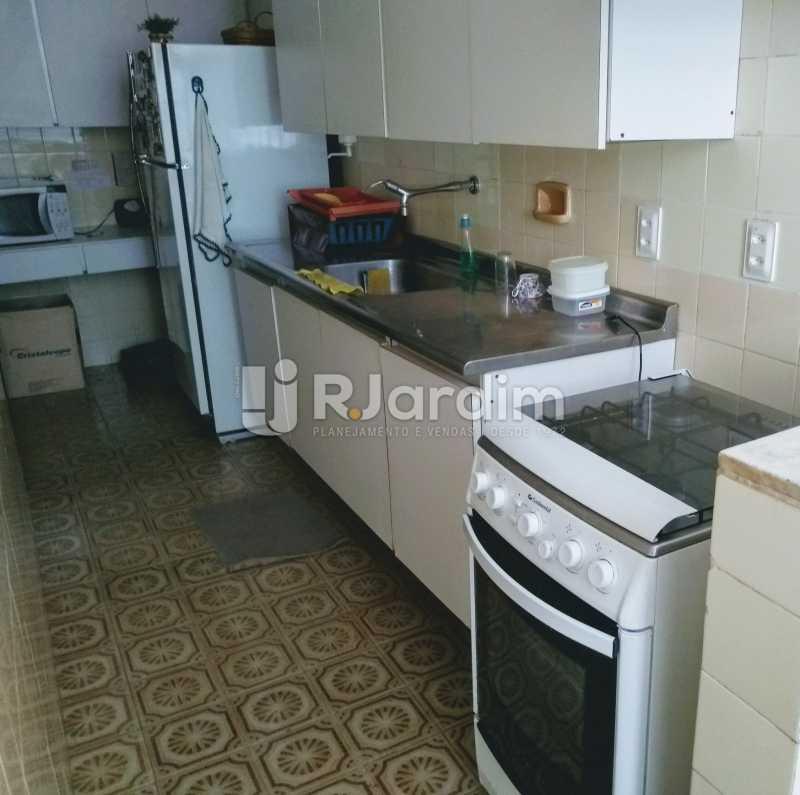cozinha  - Apartamento À Venda - Lagoa - Rio de Janeiro - RJ - LAAP21286 - 21