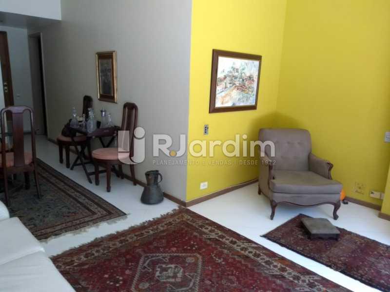 sala/ entrada social  - Apartamento À Venda - Lagoa - Rio de Janeiro - RJ - LAAP21286 - 5