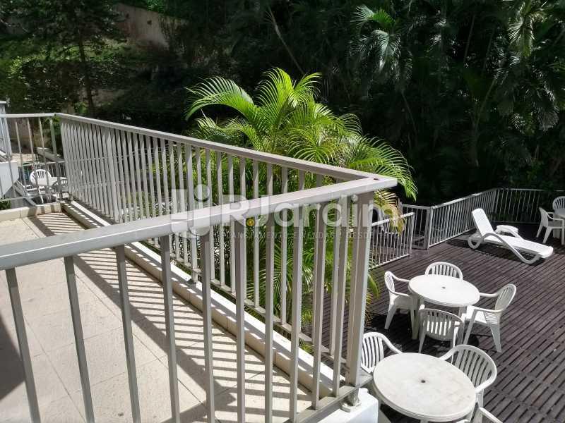 varanda  - Apartamento À Venda - Lagoa - Rio de Janeiro - RJ - LAAP21286 - 9