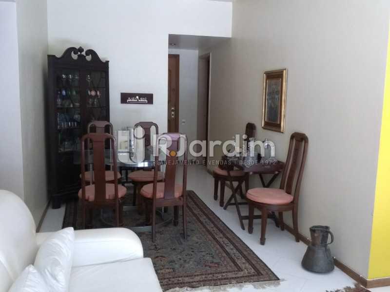 sala  - Apartamento À Venda - Lagoa - Rio de Janeiro - RJ - LAAP21286 - 8
