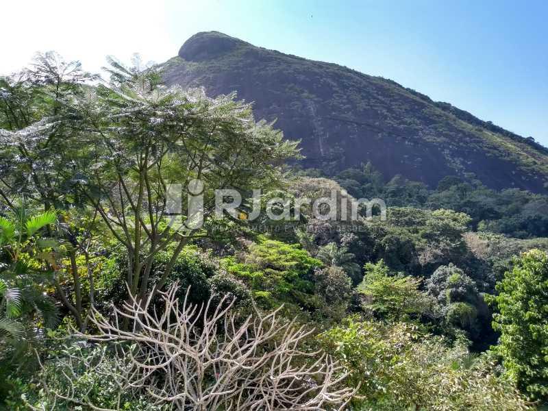 vista suíte/pedra da Catacumba - Apartamento À Venda - Lagoa - Rio de Janeiro - RJ - LAAP21286 - 18