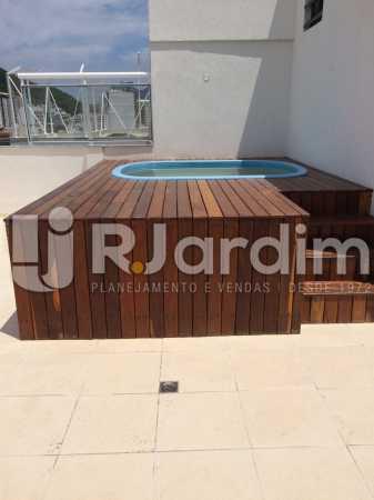Piscina - Compra Venda Avaliação Imóveis Cobertura Botafogo 3 Quartos - LACO30247 - 16