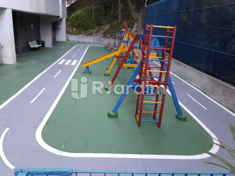 play - Compra Venda Avaliação Imóveis Flat Residencial Humaitá 2 Quartos - LAFL20080 - 15