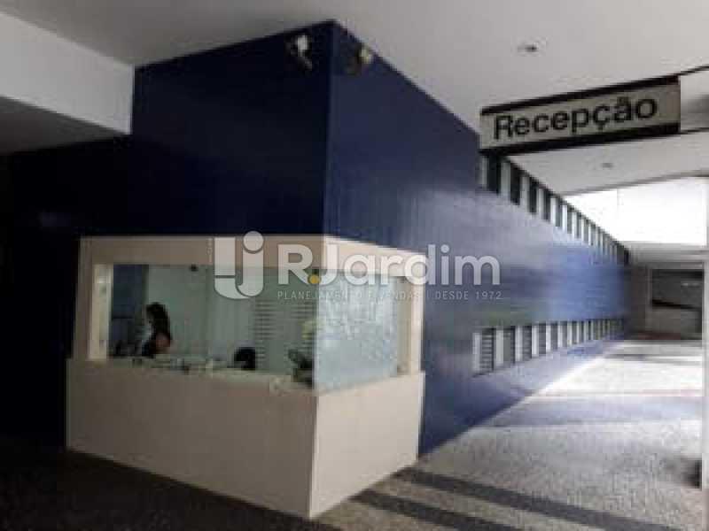recepção  - Compra Venda Avaliação Imóveis Flat Residencial Humaitá 2 Quartos - LAFL20080 - 4